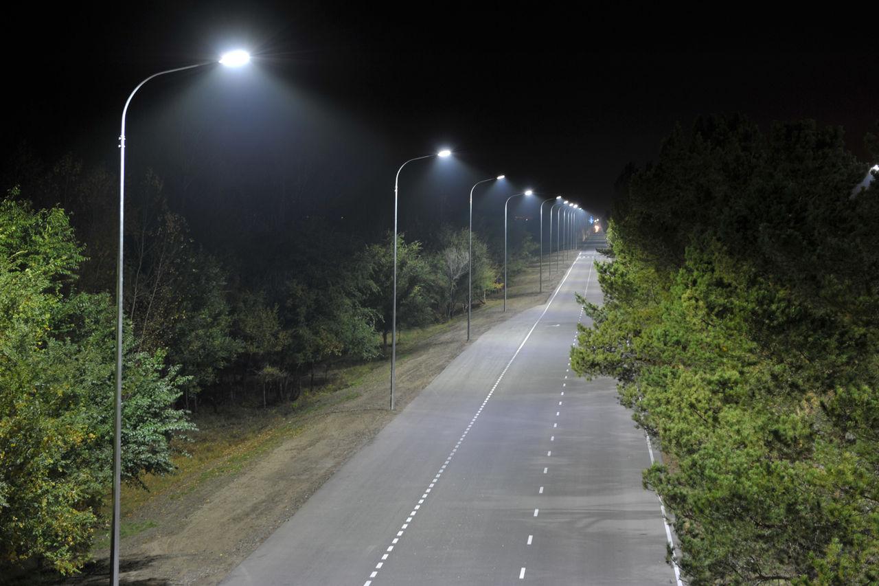Светильники для освещения дорог и магистралей, придомовых территорий