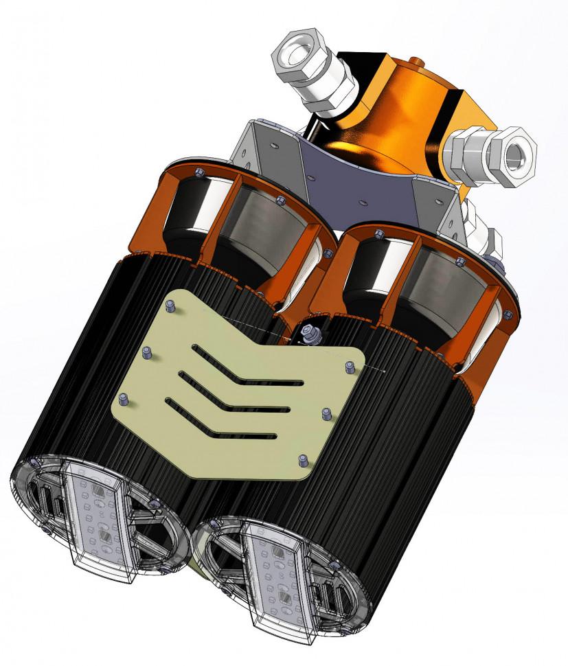 Светильники  1й зоны взрывозащиты для освещения взрывозащищенных объектов нефтяной отрасли