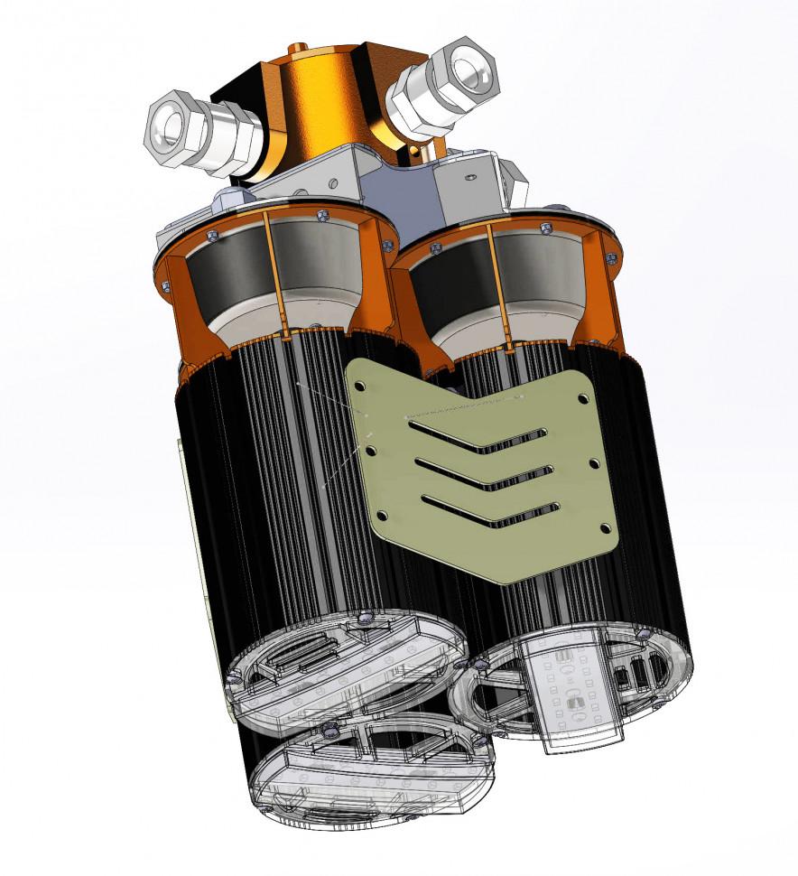 Взрывозащищенный подвесной светодиодный светильник